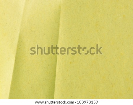 Crumpled brown paper texture for background - stock photo