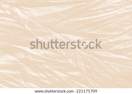 crumpled fabric - stock photo