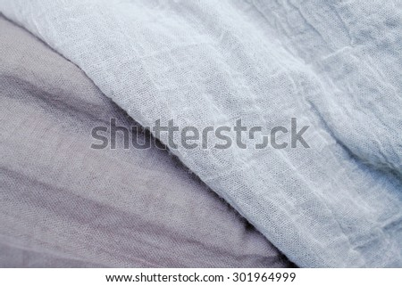 Crumpled fabric beige texture