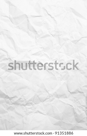 crumpled paper - stock photo