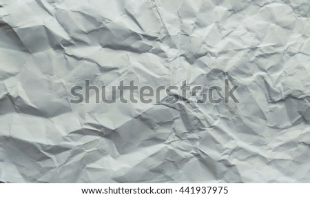 crumpled paper for background