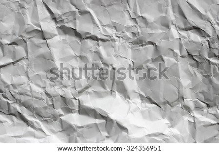 crumpled paper, texture and backgrounds.