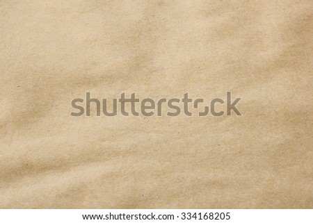 crumpled paper texture for background in vintage color tone styles:detail of paper texture. - stock photo