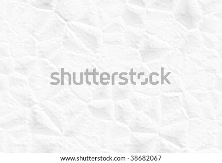 Crumpled tileable paper - stock photo