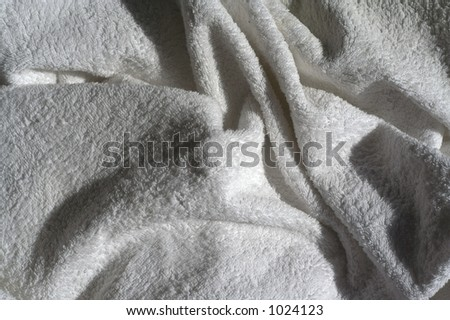 Crumpled towel