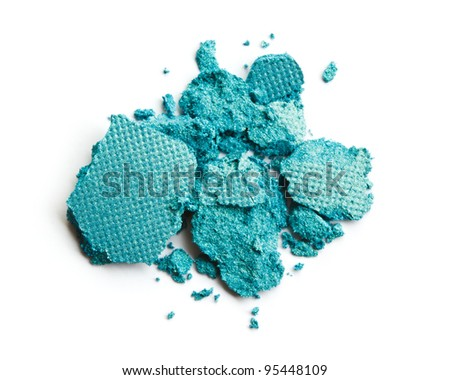 Crushed eye shadow - stock photo