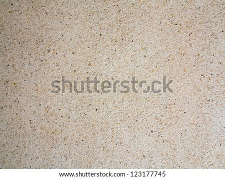 Crushed gravel and limestone paving    - stock photo