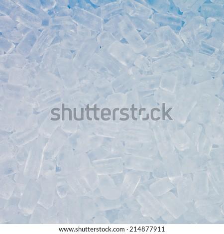 Crushed ice - stock photo