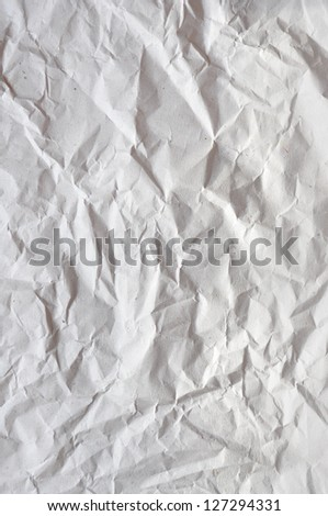 Crushed recycled paper - stock photo