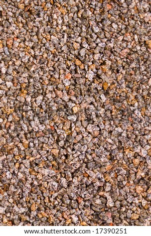 Crushed stones, seamless background texture