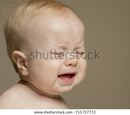 Crying Baby (boy, 9 months)