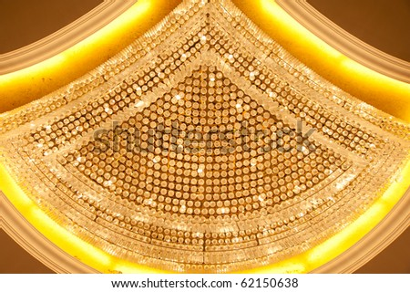 Crystal Chandelier Close-up