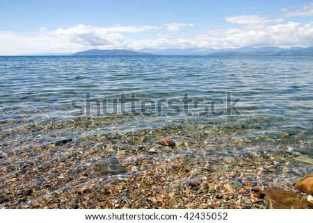 Crystal Clear Water in Wild Lake Hubsugul