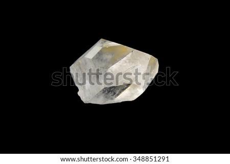 Crystal rhinestone - stock photo