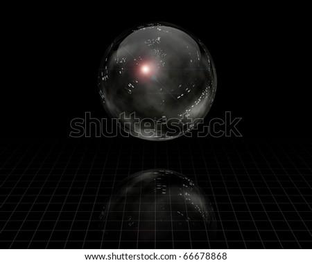 Crystal Sphere - stock photo
