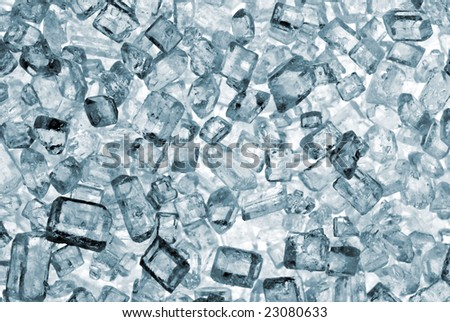 Crystal sugar - stock photo