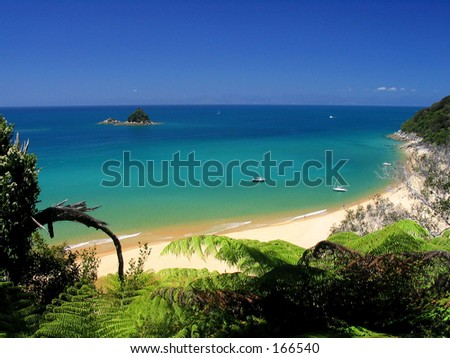 Crystal Water beach for Warm beach publications - stock photo