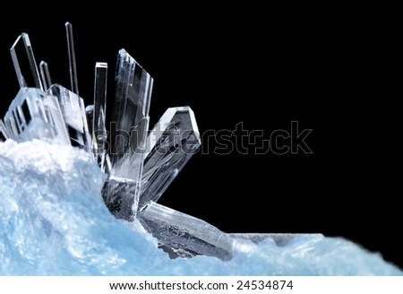 Crystals - stock photo