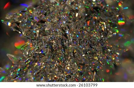 Crystals - stock photo