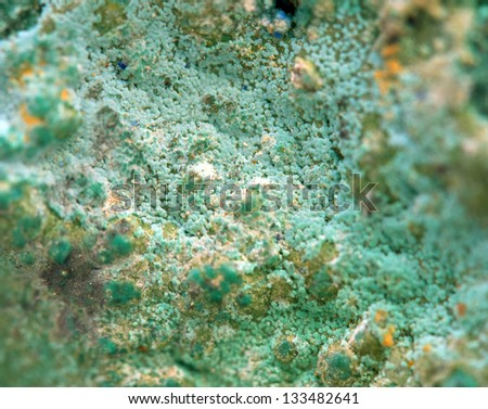 Crystals. Extreme closeup - stock photo