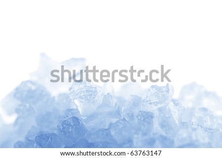 Crystals of natural sea salt close-up. Toned image. - stock photo
