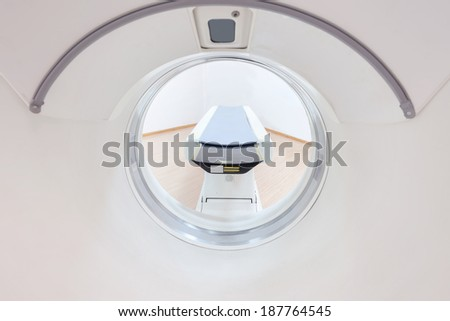 CT and   knife - stock photo