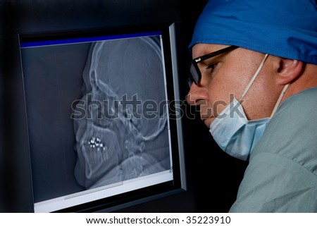 CTT Scan - stock photo