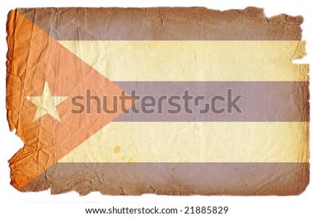cuba flag grunge - stock photo