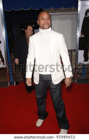 "CUBA GOODING JR at the world premiere of ""The Pursuit of Happyness"" at the Mann Village Theatre, Westwood. December 7, 2006  Los Angeles, CA Picture: Paul Smith / Featureflash"