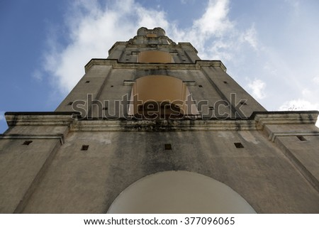 Cuba, Manacas Iznaga Tower - stock photo