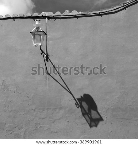 Cuba, old Street lamp - stock photo