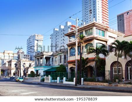 Cuba. Streets of Old Havana - stock photo