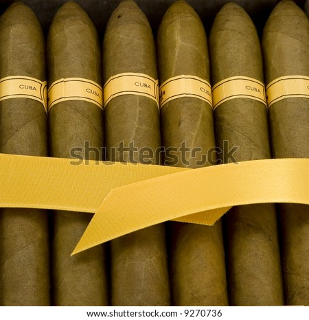 Cuban Cigars - stock photo
