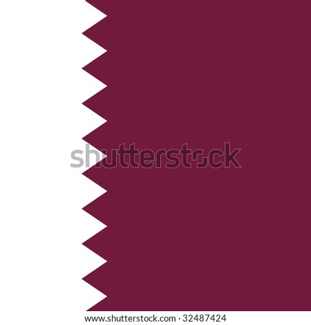 cube flag of qatar