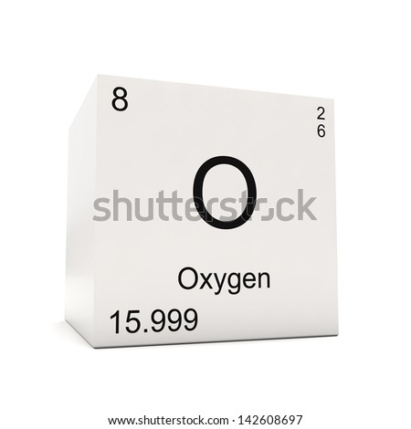 Cube oxygen element periodic table isolated stock illustration cube of oxygen element of the periodic table isolated on white background urtaz Images