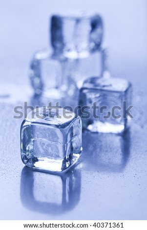 Cubes - stock photo