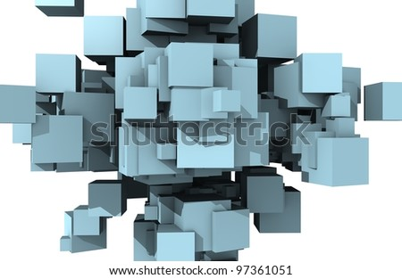 cubes background