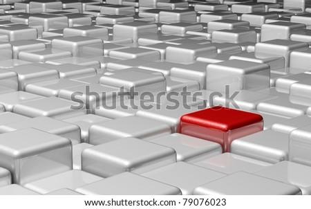 Cubes Concept - stock photo