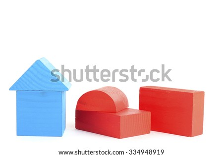 cubes isolated on white background