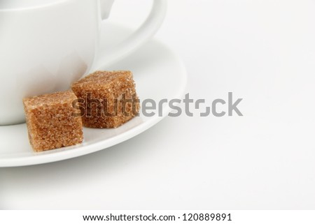cubes of brown sugar