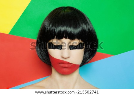 Cubism - stock photo