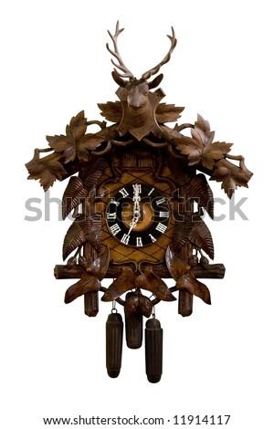 Cuckoo Clock - stock photo