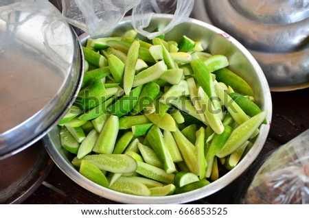 Cucumber for cooking
