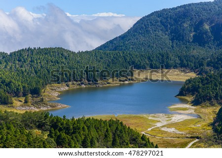 Cueifong Lake - The Largest High Mountain Lake in Taiwan