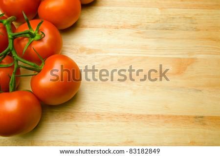 culinary background - stock photo