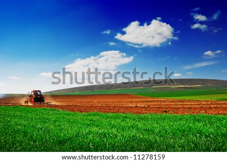 Cultivating - stock photo