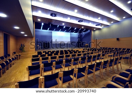 Culture Hall - stock photo