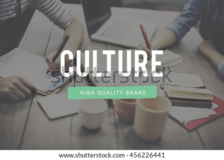 Culture Traditional Society Custom Belief Values Concept - stock photo