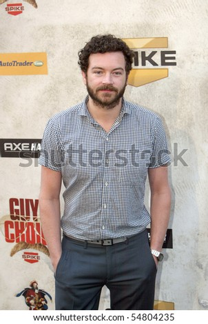 "CULVER CITY, CA - JUNE 5: Danny Masterson arrives at the 4th annual Spike TV's ""Guy's Choice"" held June, 5, 2010 at Sony Studios in Culver City, CA."