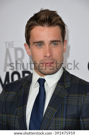 "CULVER CITY, CA - OCTOBER 29, 2015: Christian Cooke at the  premiere for ""The Art of More"" at Sony Pictures Studios"